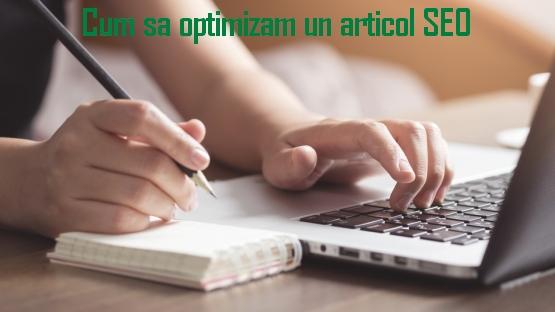 Cum sa optimizam un articol SEO