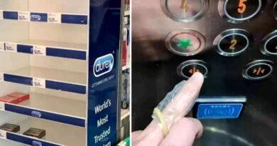 In Singapore, prezervativele inlocuiesc manusile din cauciuc.