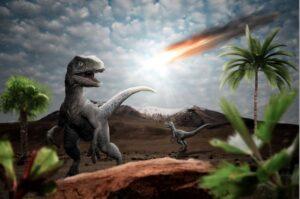 Extinctia dinozaurilor s-a produs in urma coliziunii Pamantului cu un meteorit gigantic.
